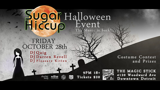 Sugar Hiccup Halloween Event